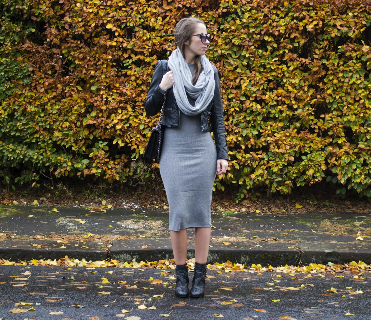 Forever 21 Grey Sweater Dress 2