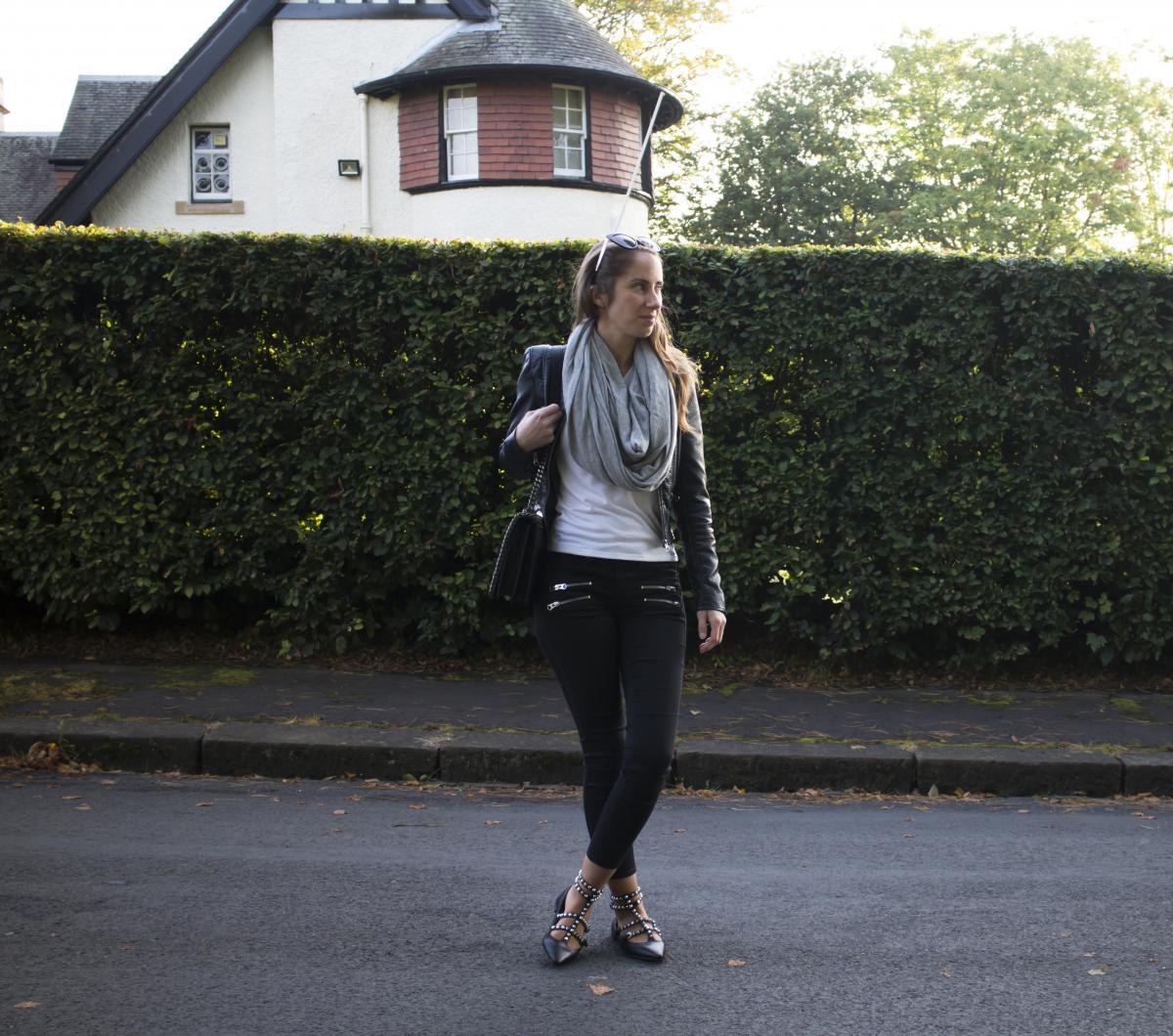 Zara Croc and Chain City Bag 15
