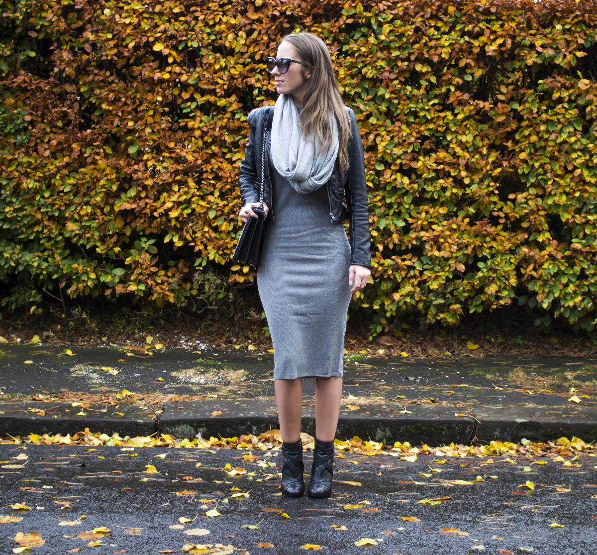 Forever 21 Grey Sweater Dress 17