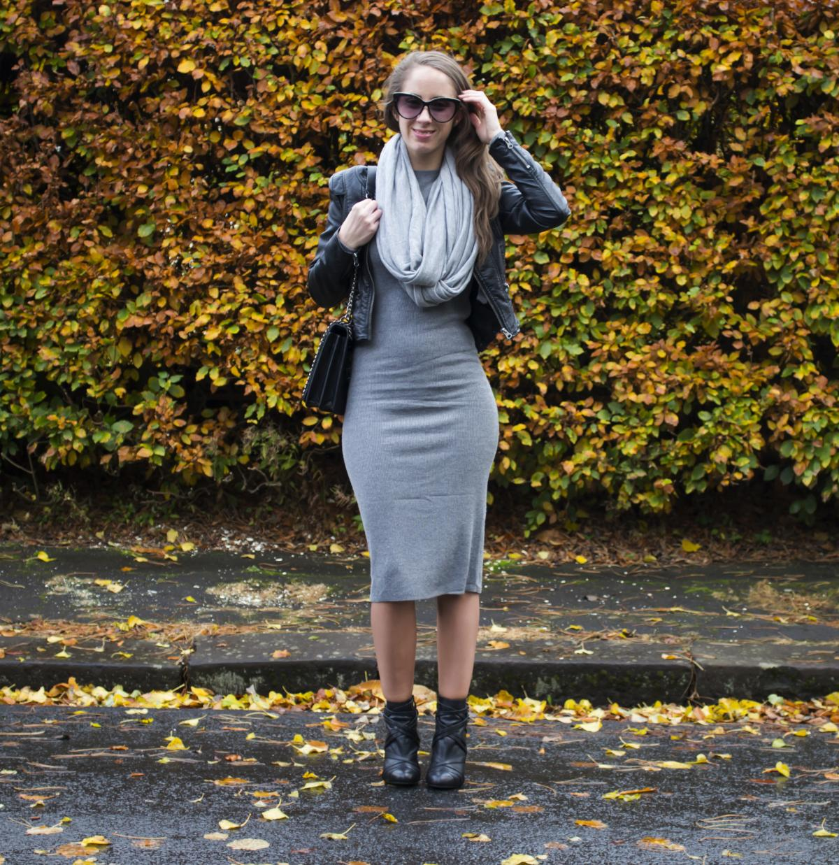 Forever 21 Grey Sweater Dress 18