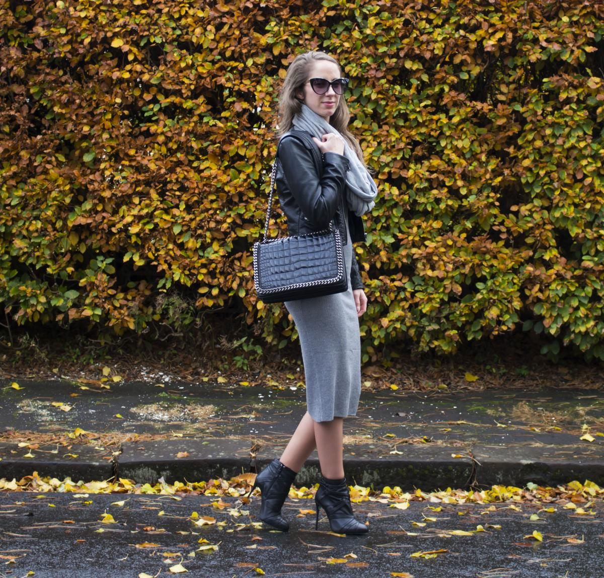 Forever 21 Grey Sweater Dress 20