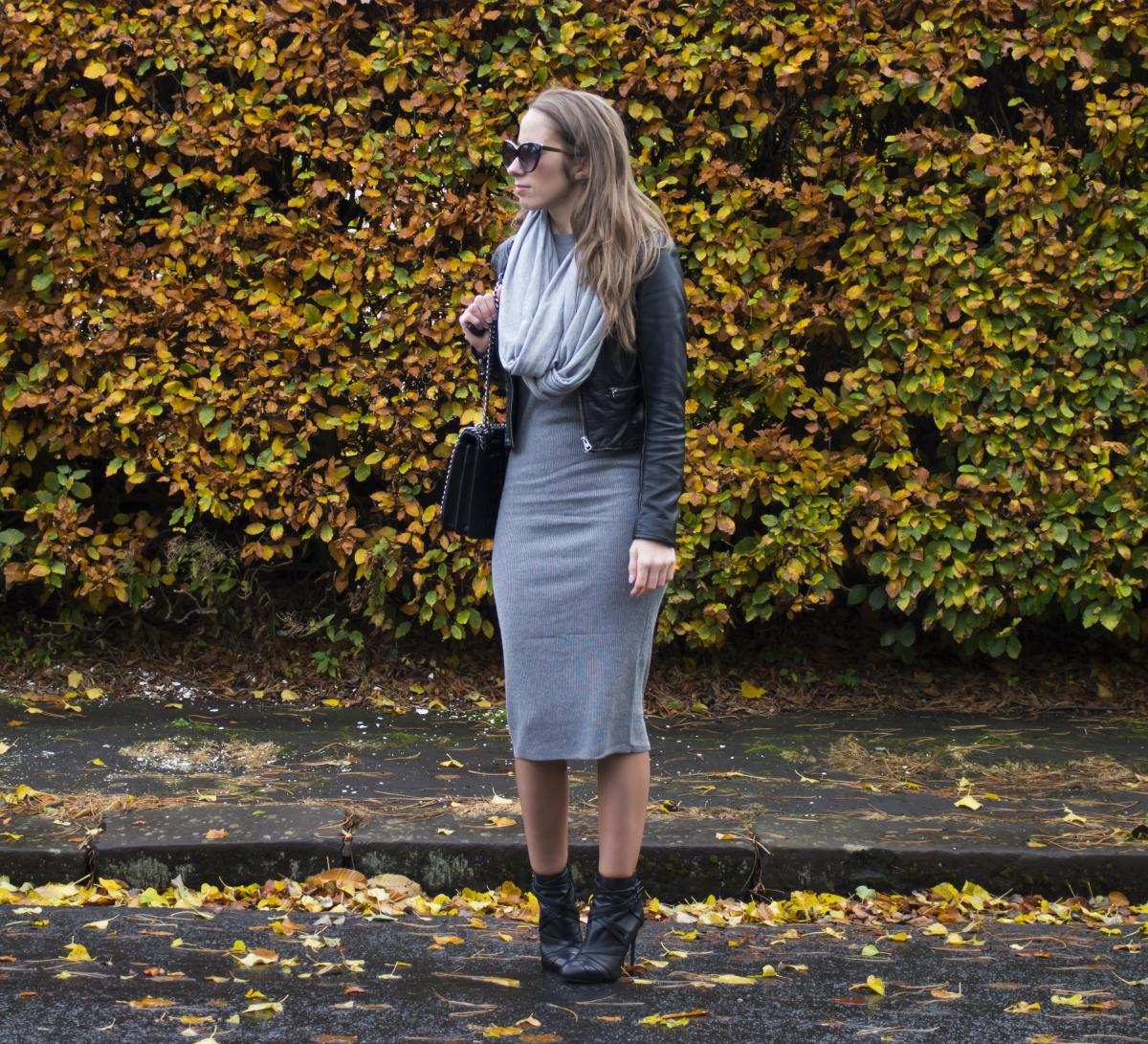 Forever 21 Grey Sweater Dress 22