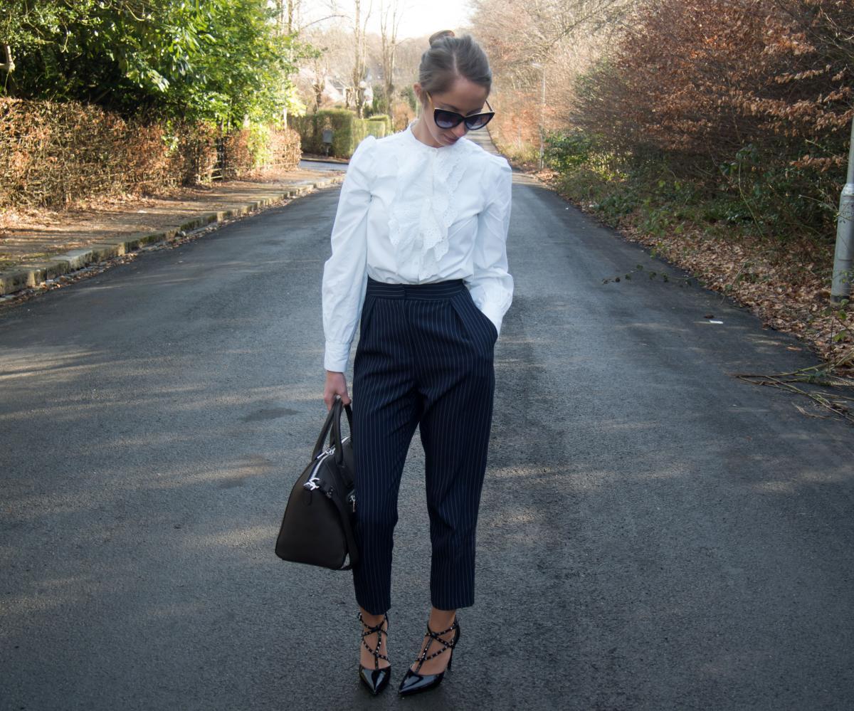 Petite-Paulina---Zara-White-Lace-Shirt-4
