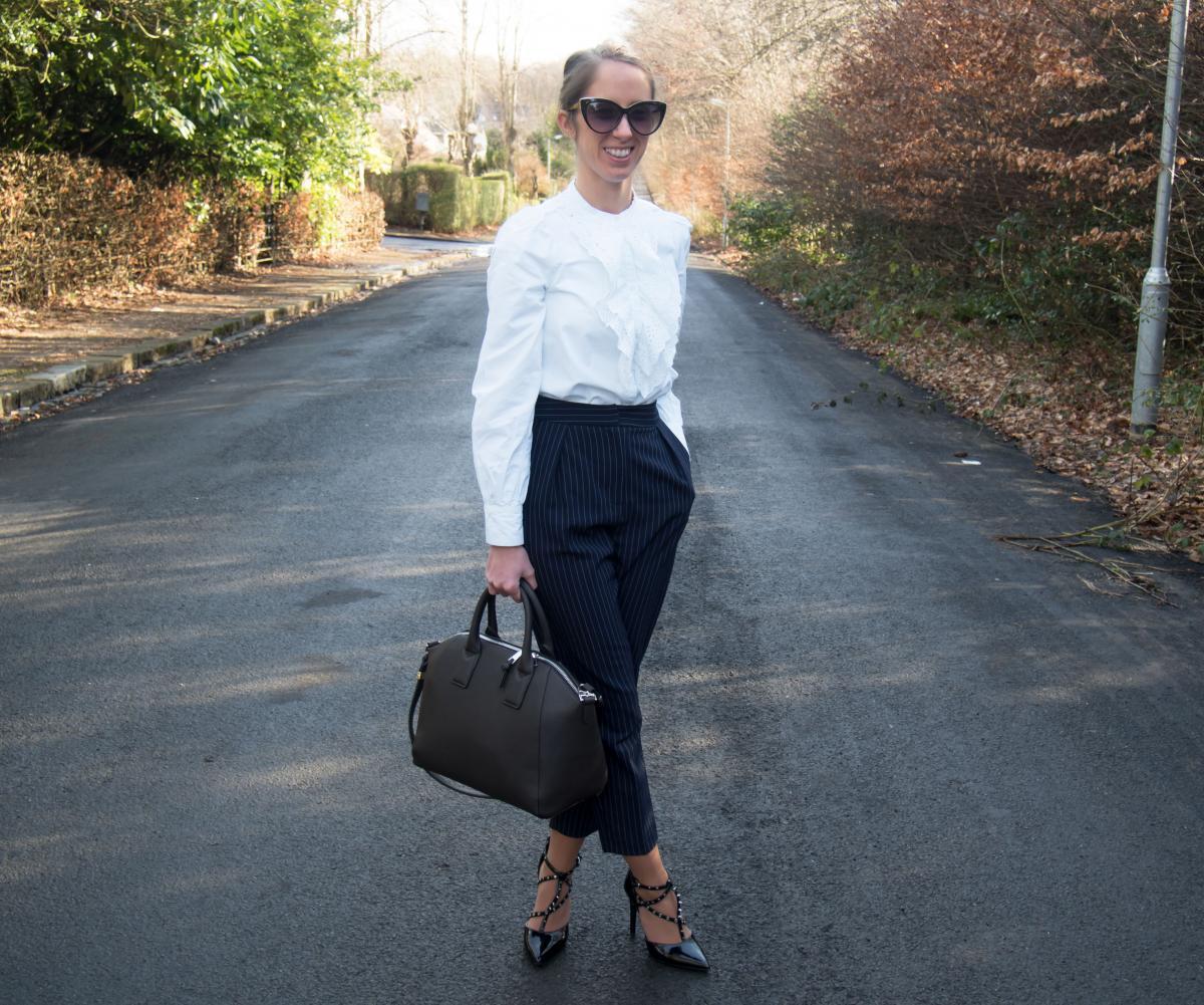 Petite-Paulina---Zara-White-Lace-Shirt-7