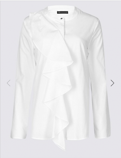 M&S Ruffle Blouse