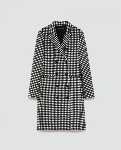 Gingham Coat