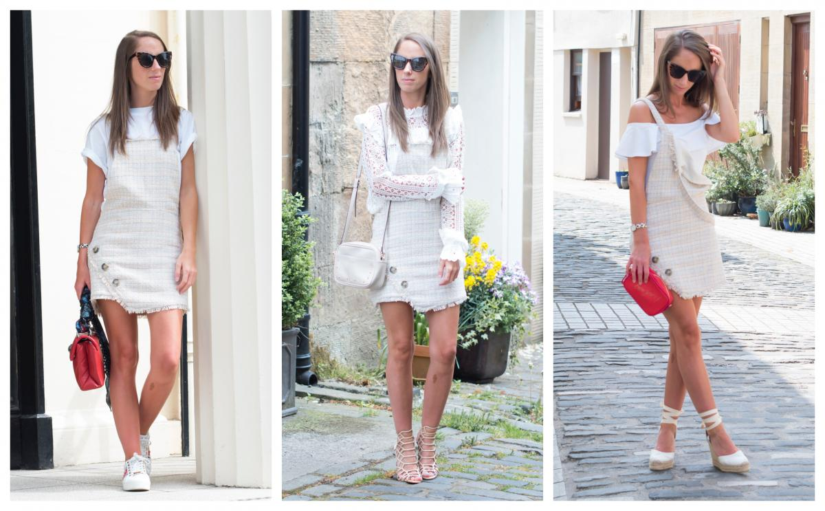 One Pinafore – Three Ways to Wear