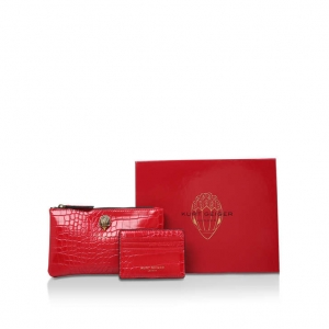 Red Pouch Set