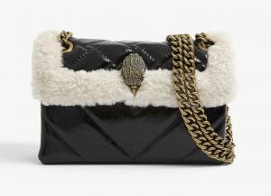 Shearling Kensington Bag