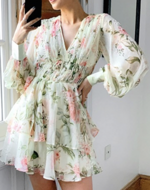 ASOS Zimmermann Dupe Dress
