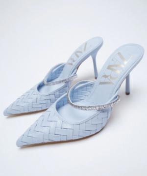 Blue Mule Shoes