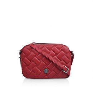 Red Kensington Cross Body Bag